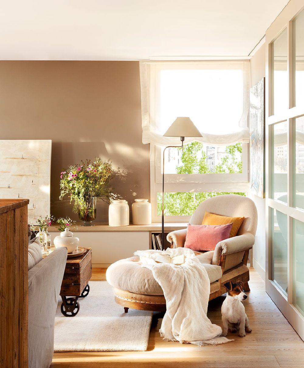 adelaparvu.com despre apartament cu camere separate de usi glisante, designer Pia Capdevila, Foto ElMueble (12)