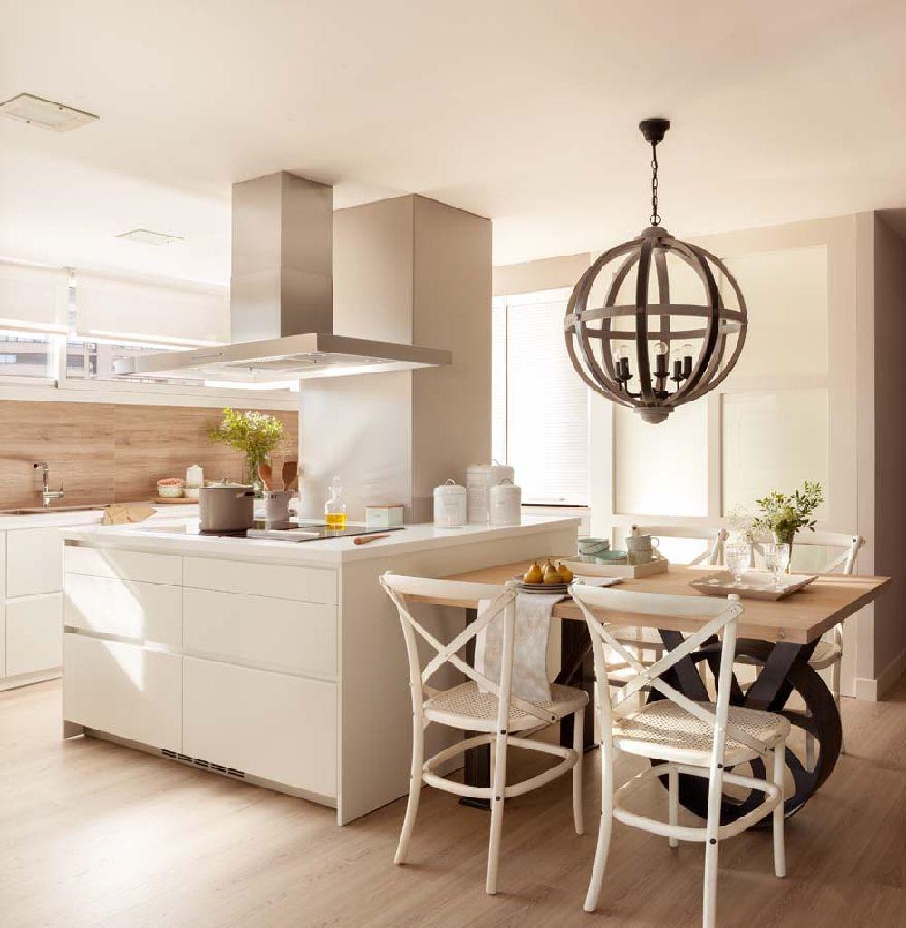 adelaparvu.com despre apartament cu camere separate de usi glisante, designer Pia Capdevila, Foto ElMueble (16)