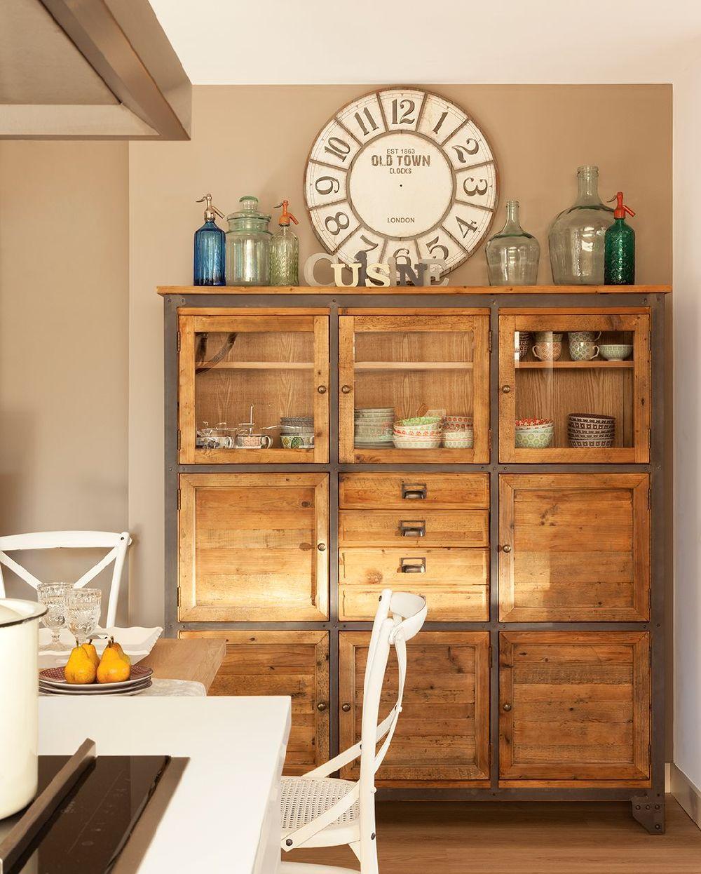 adelaparvu.com despre apartament cu camere separate de usi glisante, designer Pia Capdevila, Foto ElMueble (3)