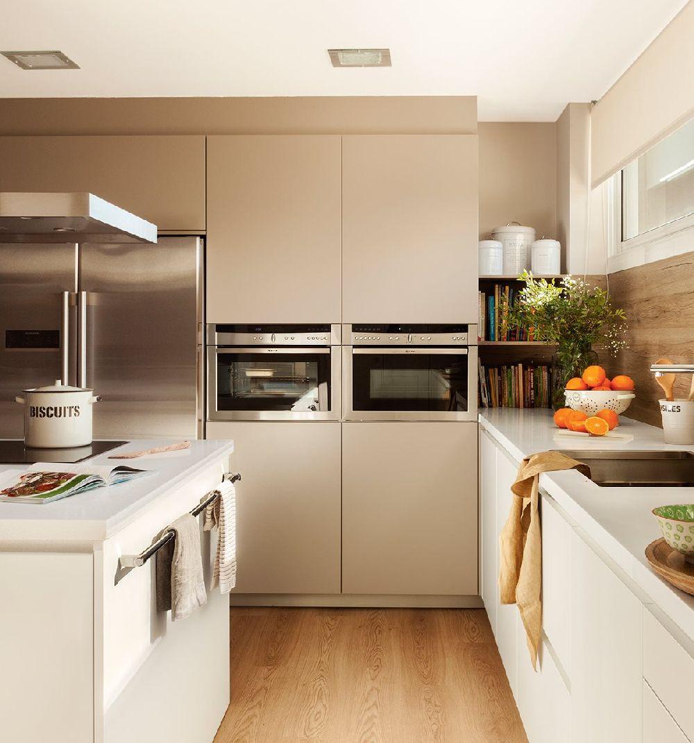 adelaparvu.com despre apartament cu camere separate de usi glisante, designer Pia Capdevila, Foto ElMueble (5)