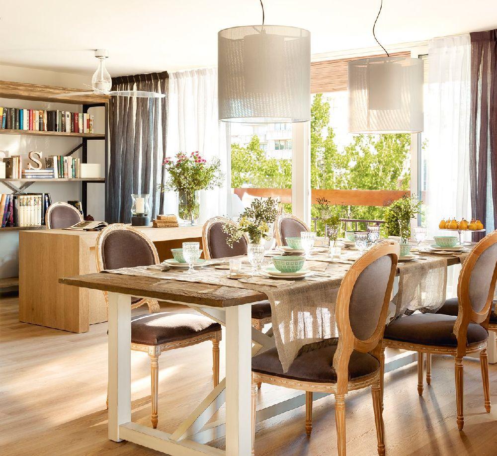 adelaparvu.com despre apartament cu camere separate de usi glisante, designer Pia Capdevila, Foto ElMueble (7)