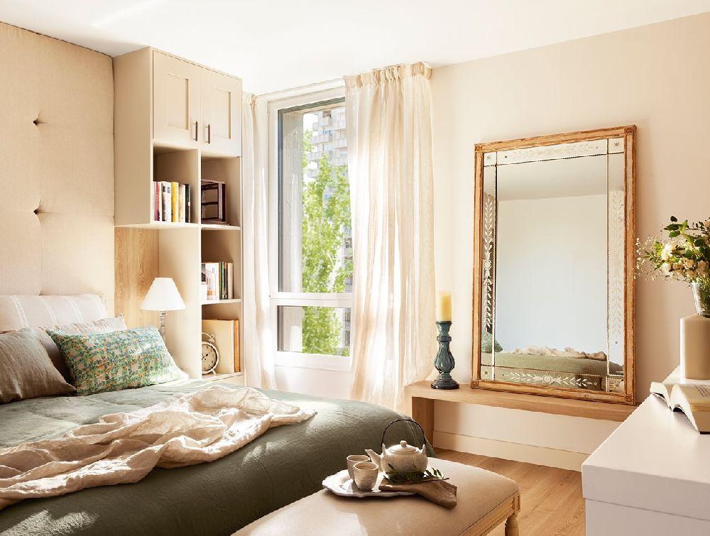 adelaparvu.com despre apartament cu camere separate de usi glisante, designer Pia Capdevila, Foto ElMueble (9)