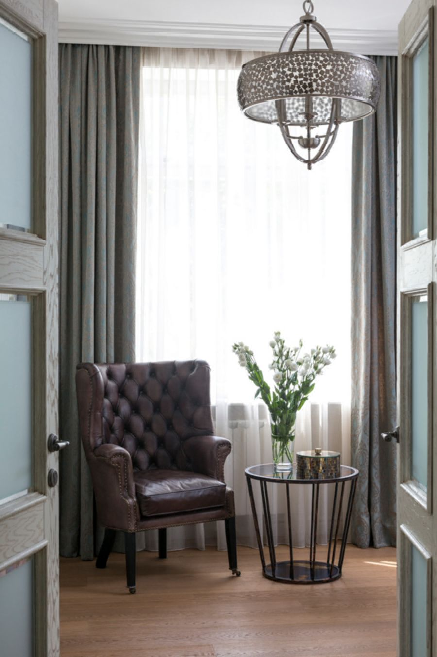 adelaparvu.com despre apartament de 80 mp patrati cu aer rustic elegant, locuinta Rusia, designer Zhenya Zhdanova (10)