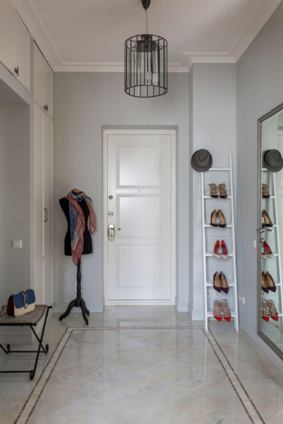 adelaparvu.com despre apartament de 80 mp patrati cu aer rustic elegant, locuinta Rusia, designer Zhenya Zhdanova (15)
