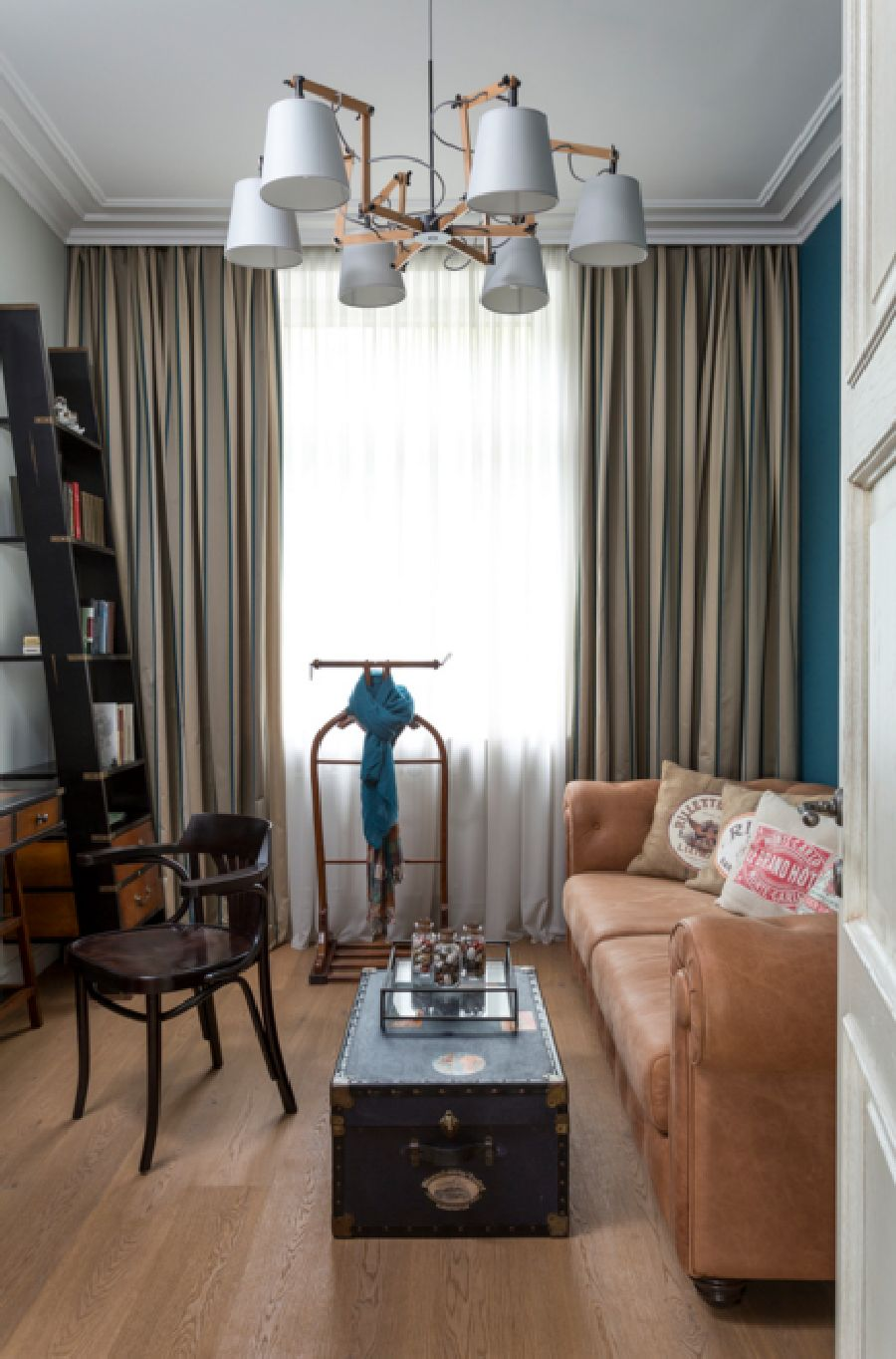 adelaparvu.com despre apartament de 80 mp patrati cu aer rustic elegant, locuinta Rusia, designer Zhenya Zhdanova (18)