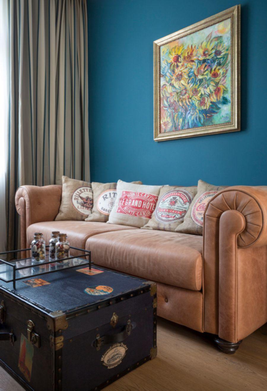 adelaparvu.com despre apartament de 80 mp patrati cu aer rustic elegant, locuinta Rusia, designer Zhenya Zhdanova (19)