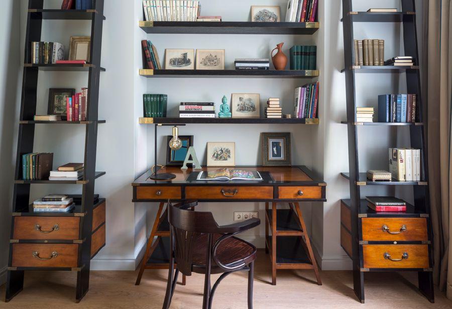 adelaparvu.com despre apartament de 80 mp patrati cu aer rustic elegant, locuinta Rusia, designer Zhenya Zhdanova (20)