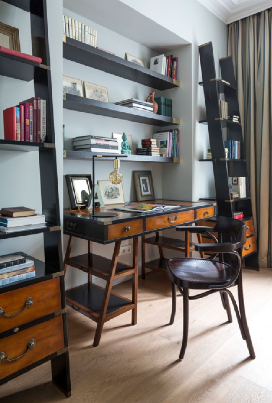 adelaparvu.com despre apartament de 80 mp patrati cu aer rustic elegant, locuinta Rusia, designer Zhenya Zhdanova (21)