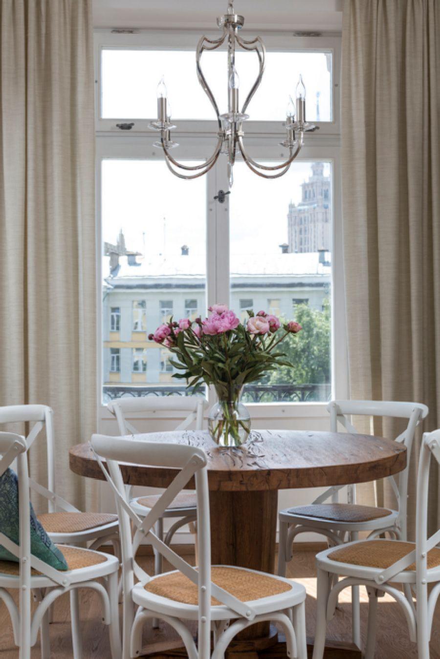adelaparvu.com despre apartament de 80 mp patrati cu aer rustic elegant, locuinta Rusia, designer Zhenya Zhdanova (3)