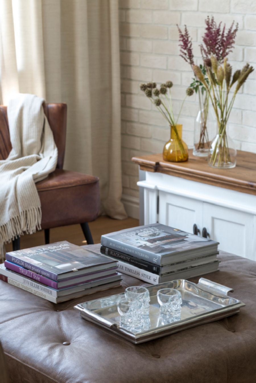 adelaparvu.com despre apartament de 80 mp patrati cu aer rustic elegant, locuinta Rusia, designer Zhenya Zhdanova (8)