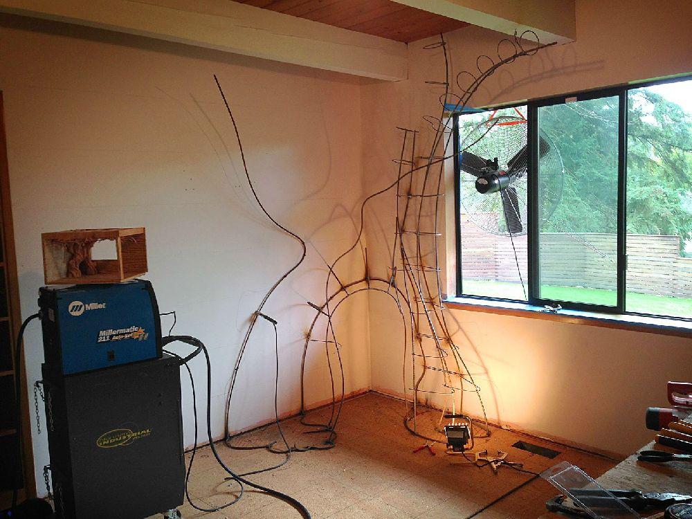 adelaparvu.com despre camera de copil transformata, constructia unui copac, Foto Rob Adams (15)