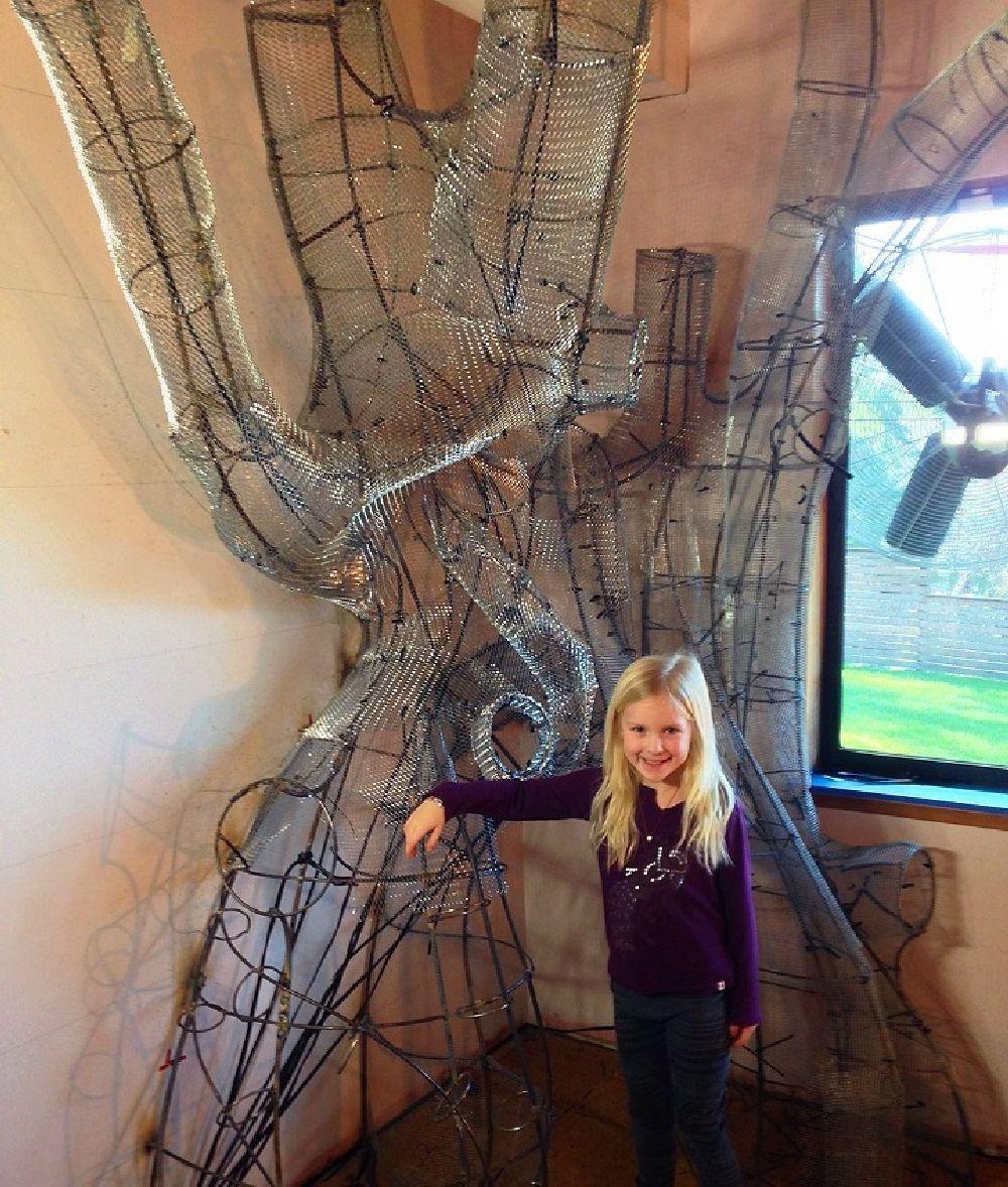 adelaparvu.com despre camera de copil transformata, constructia unui copac, Foto Rob Adams (6)