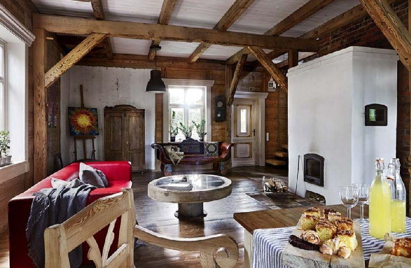 adelaparvu.com despre casa construita din lemn vechi, casa Polonia, Foto Weranda Country (1)
