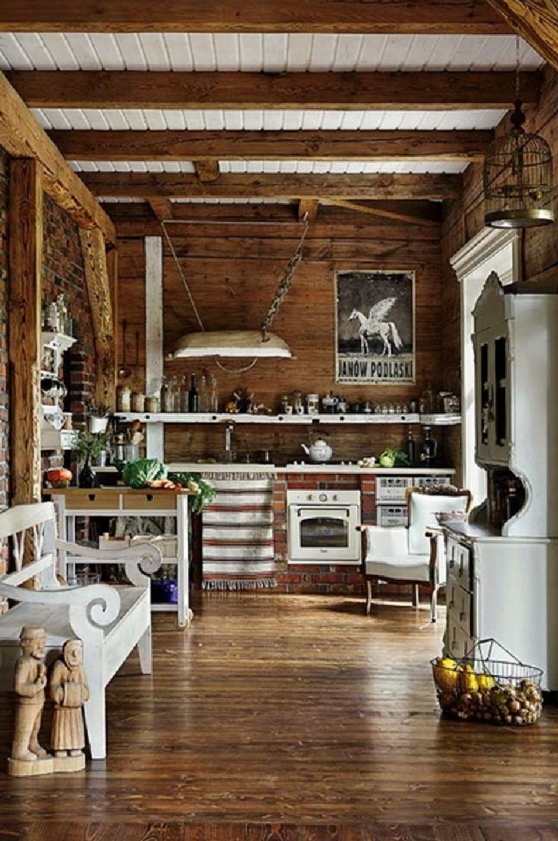 adelaparvu.com despre casa construita din lemn vechi, casa Polonia, Foto Weranda Country (11)