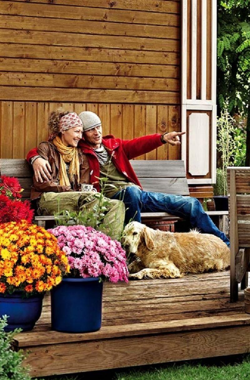 adelaparvu.com despre casa construita din lemn vechi, casa Polonia, Foto Weranda Country (12)