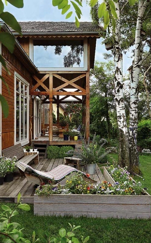 adelaparvu.com despre casa construita din lemn vechi, casa Polonia, Foto Weranda Country (14)
