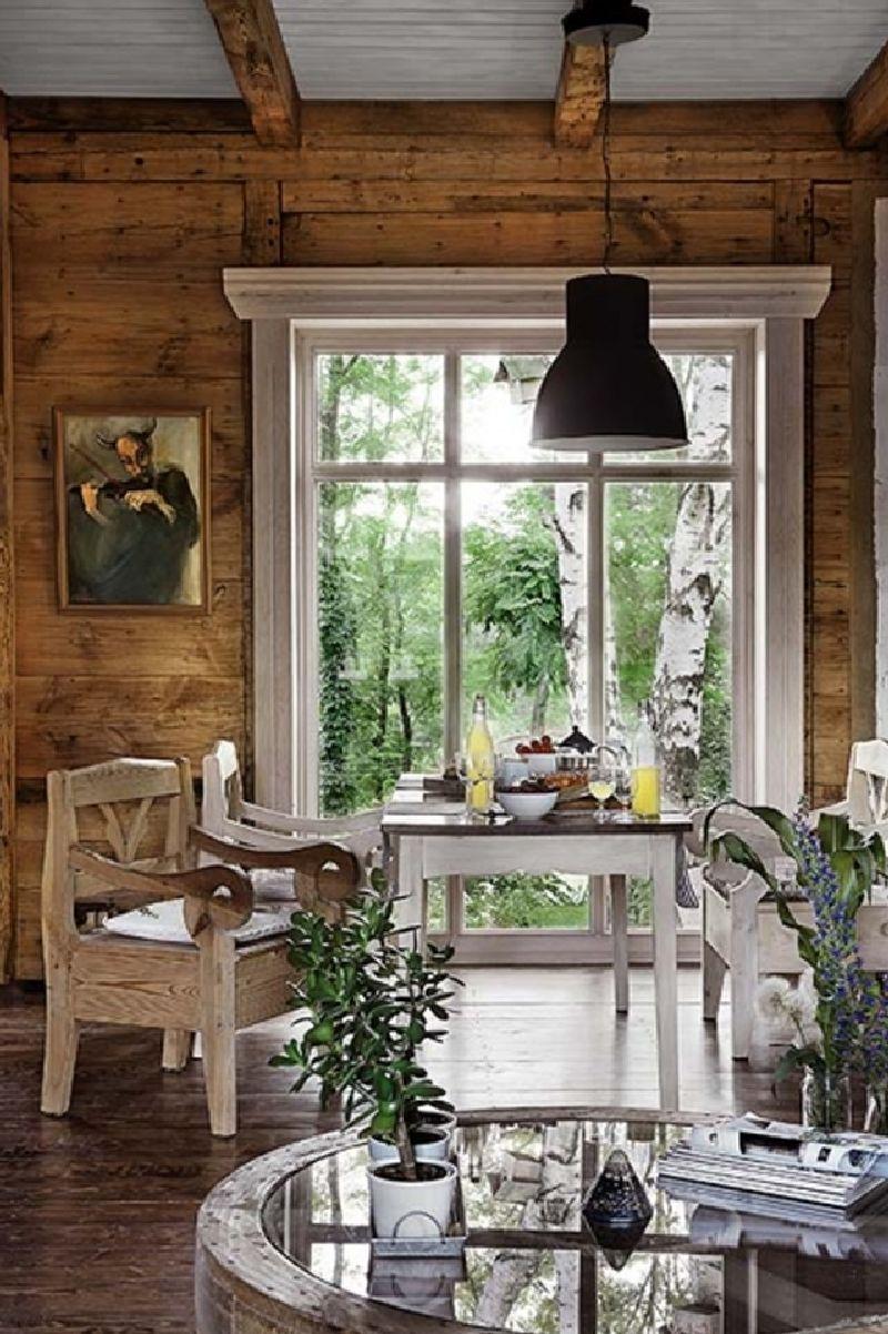 adelaparvu.com despre casa construita din lemn vechi, casa Polonia, Foto Weranda Country (15)