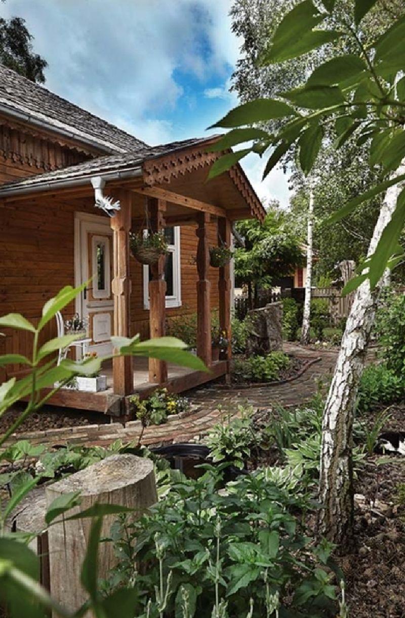 adelaparvu.com despre casa construita din lemn vechi, casa Polonia, Foto Weranda Country (6)