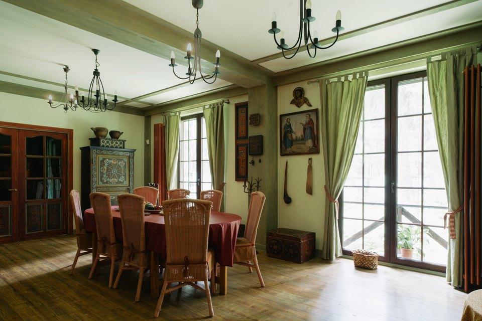 adelaparvu.com despre casa de vacanta rustica Rusia, arhitecti Sergei Zaitsev, Marina Sergeyeva, Foto Vika Bogorodkaya (15)