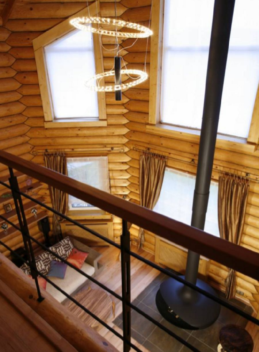 adelaparvu.com despre casa din barne de lemn, casa Rusia 192 mp, designer interior Svetlana Panarin, Foto Evgeniy Kylibaba, Gregory Yashuhin (11)