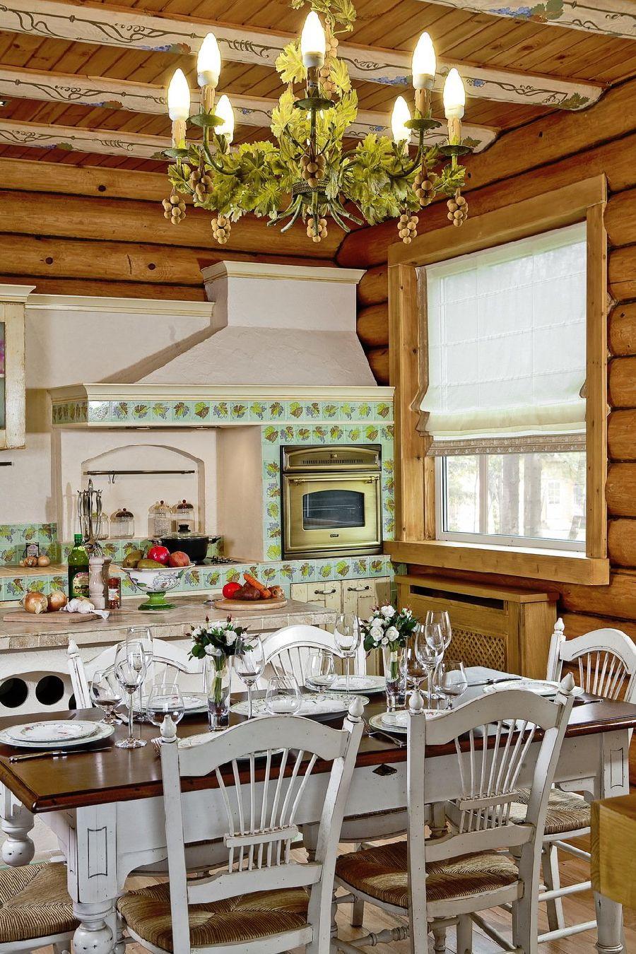 adelaparvu.com despre casa din barne de lemn, casa Rusia 192 mp, designer interior Svetlana Panarin, Foto Evgeniy Kylibaba, Gregory Yashuhin (14)