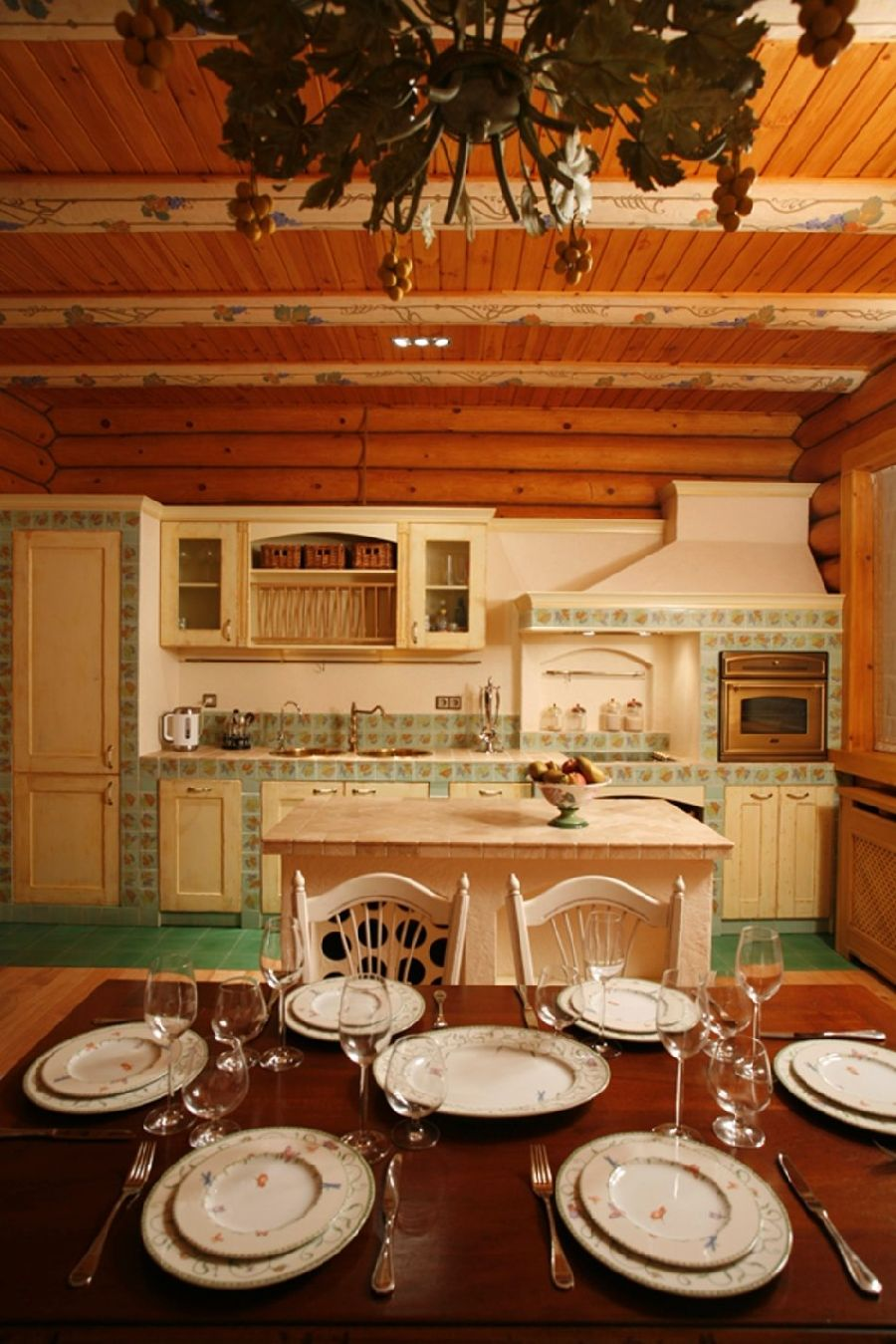 adelaparvu.com despre casa din barne de lemn, casa Rusia 192 mp, designer interior Svetlana Panarin, Foto Evgeniy Kylibaba, Gregory Yashuhin (15)