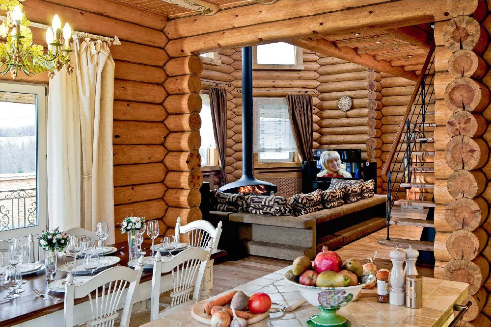 adelaparvu.com despre casa din barne de lemn, casa Rusia 192 mp, designer interior Svetlana Panarin, Foto Evgeniy Kylibaba, Gregory Yashuhin   (3)