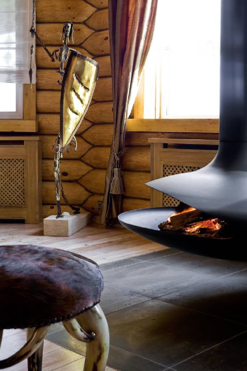 adelaparvu.com despre casa din barne de lemn, casa Rusia 192 mp, designer interior Svetlana Panarin, Foto Evgeniy Kylibaba, Gregory Yashuhin (6)