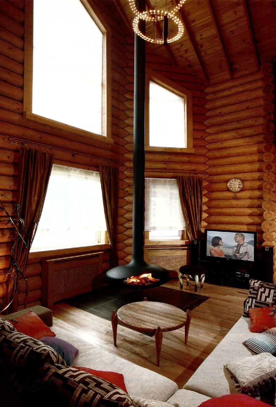 adelaparvu.com despre casa din barne de lemn, casa Rusia 192 mp, designer interior Svetlana Panarin, Foto Evgeniy Kylibaba, Gregory Yashuhin (7)