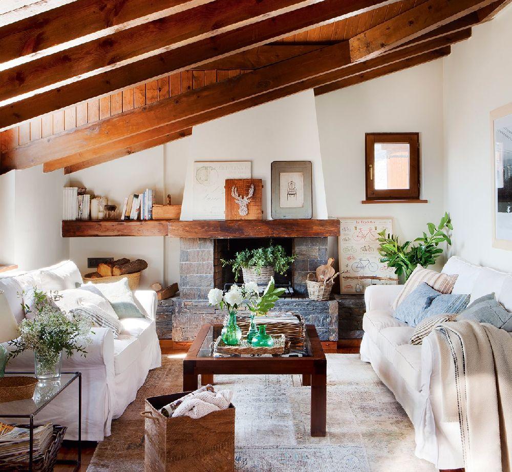 adelaparvu.com despre casa mica de vacanta la munte, design interior proprietara Victoria Villa, Foto ElMueble (9)