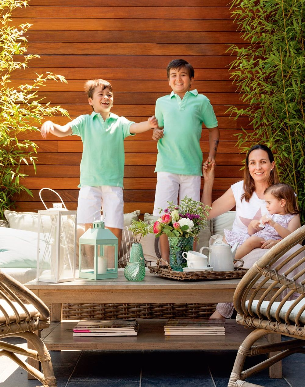 adelaparvu.com despre casa pentru familie cu deschidere catre terase, casa Spania, Foto ElMueble (9)