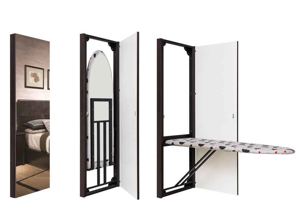 adelaparvu.com despre masa de calcat cu oglinda Larin Studio Ucraina (3)