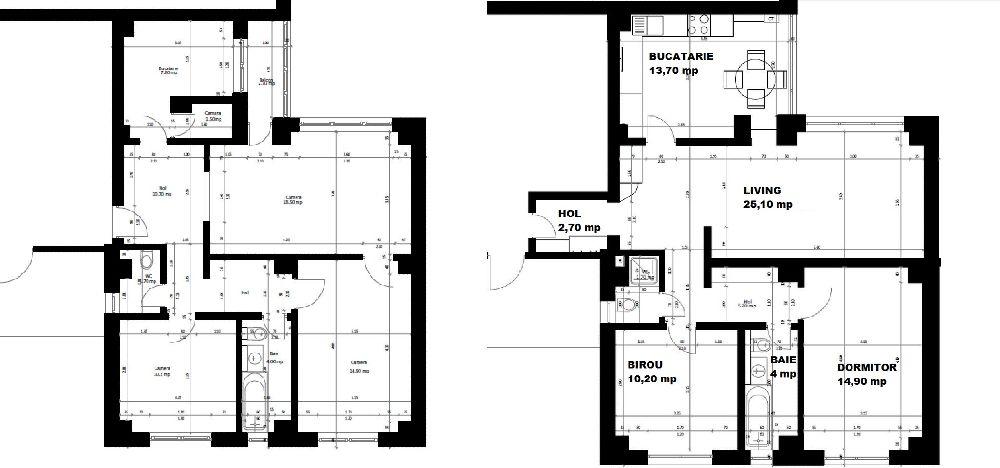 adelaparvu.com despre amenajare apartament 78 mp Miercurea Ciuc, design Botond si Emoke Szakacs, Foto Biro Zoltan, Szasz Gyongyver (22)