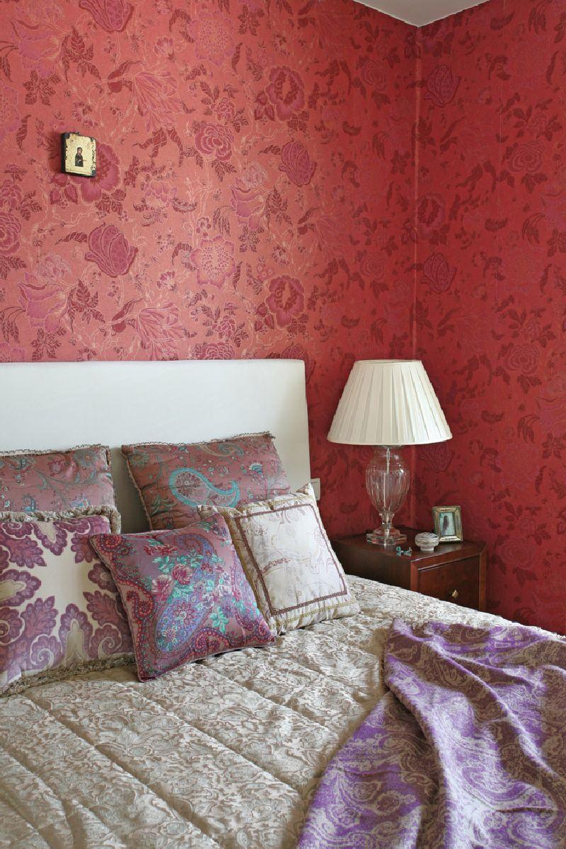 adelaparvu.com despre apartament 2 camere 55 mp, decor in rosu, design Holart Studio (16)