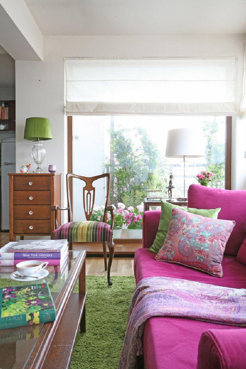 adelaparvu.com despre apartament 2 camere 55 mp, decor in rosu, design Holart Studio (5)