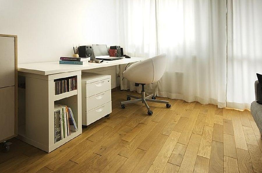 adelaparvu.com despre apartament 41 mp cu doua paturi matrimoniale, design interior arh Daria Pietryka (4)