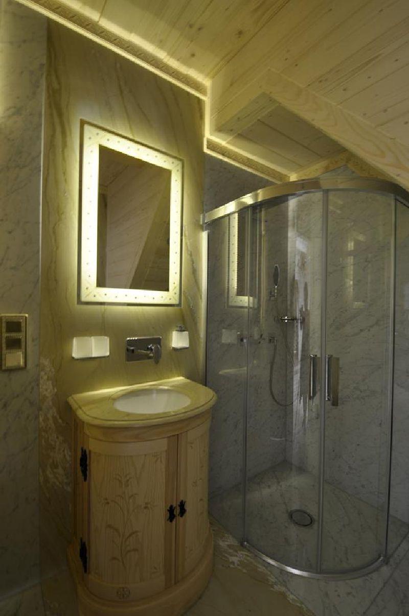 adelaparvu.com despre casa din lemn cu interior folcloric, casa Polonia, design interior Katarzyna Zachariasz-Rybak, k2 Studio (10)