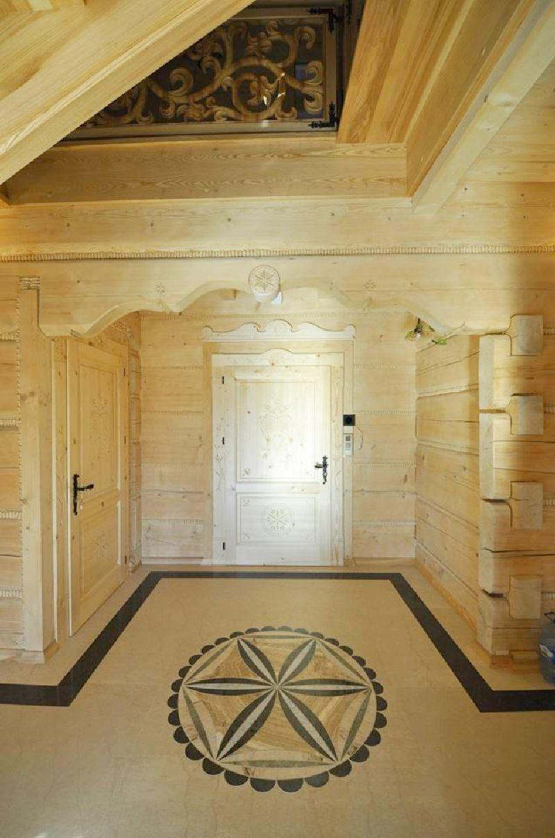 adelaparvu.com despre casa din lemn cu interior folcloric, casa Polonia, design interior Katarzyna Zachariasz-Rybak, k2 Studio (13)