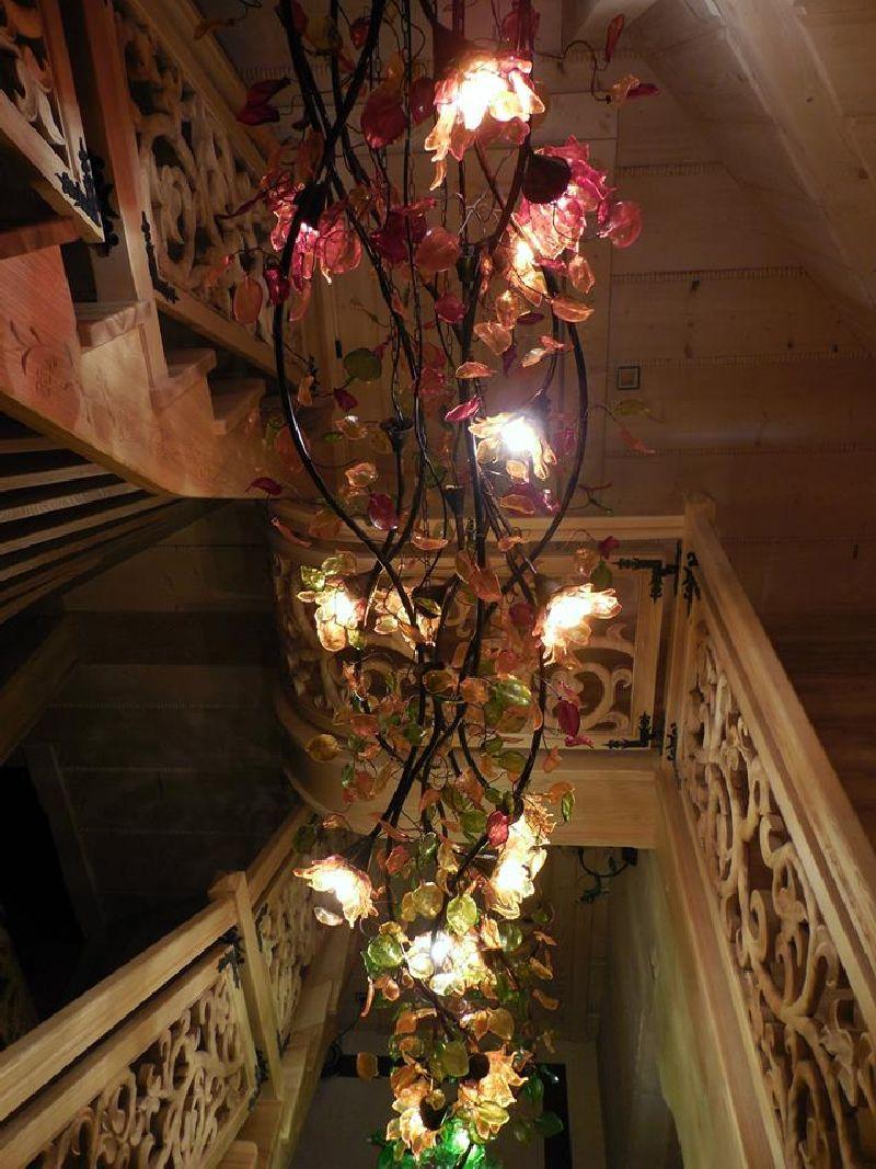 adelaparvu.com despre casa din lemn cu interior folcloric, casa Polonia, design interior Katarzyna Zachariasz-Rybak, k2 Studio (14)