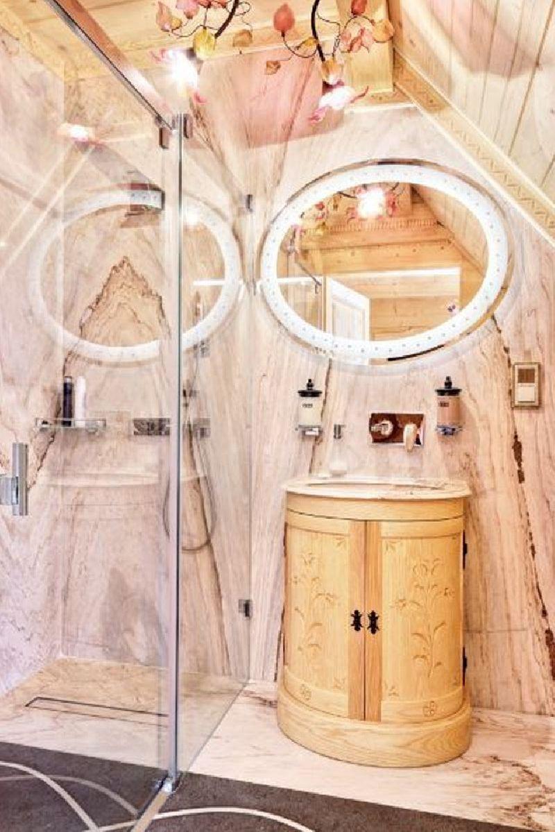 adelaparvu.com despre casa din lemn cu interior folcloric, casa Polonia, design interior Katarzyna Zachariasz-Rybak, k2 Studio (19)