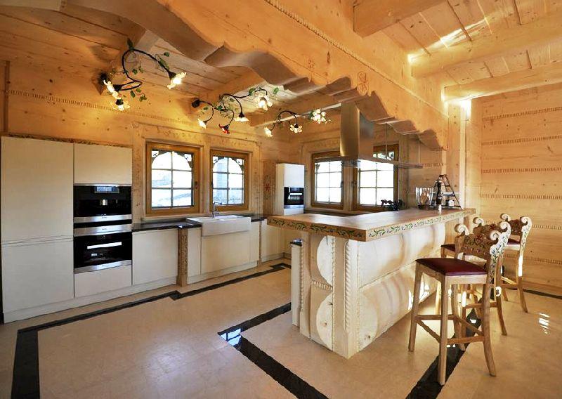 adelaparvu.com despre casa din lemn cu interior folcloric, casa Polonia, design interior Katarzyna Zachariasz-Rybak, k2 Studio (3)