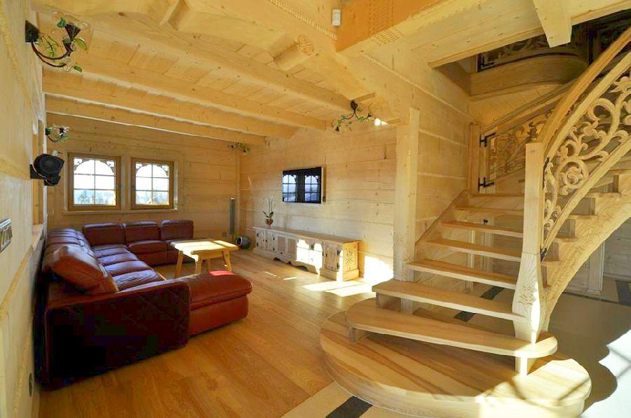 adelaparvu.com despre casa din lemn cu interior folcloric, casa Polonia, design interior Katarzyna Zachariasz-Rybak, k2 Studio (5)