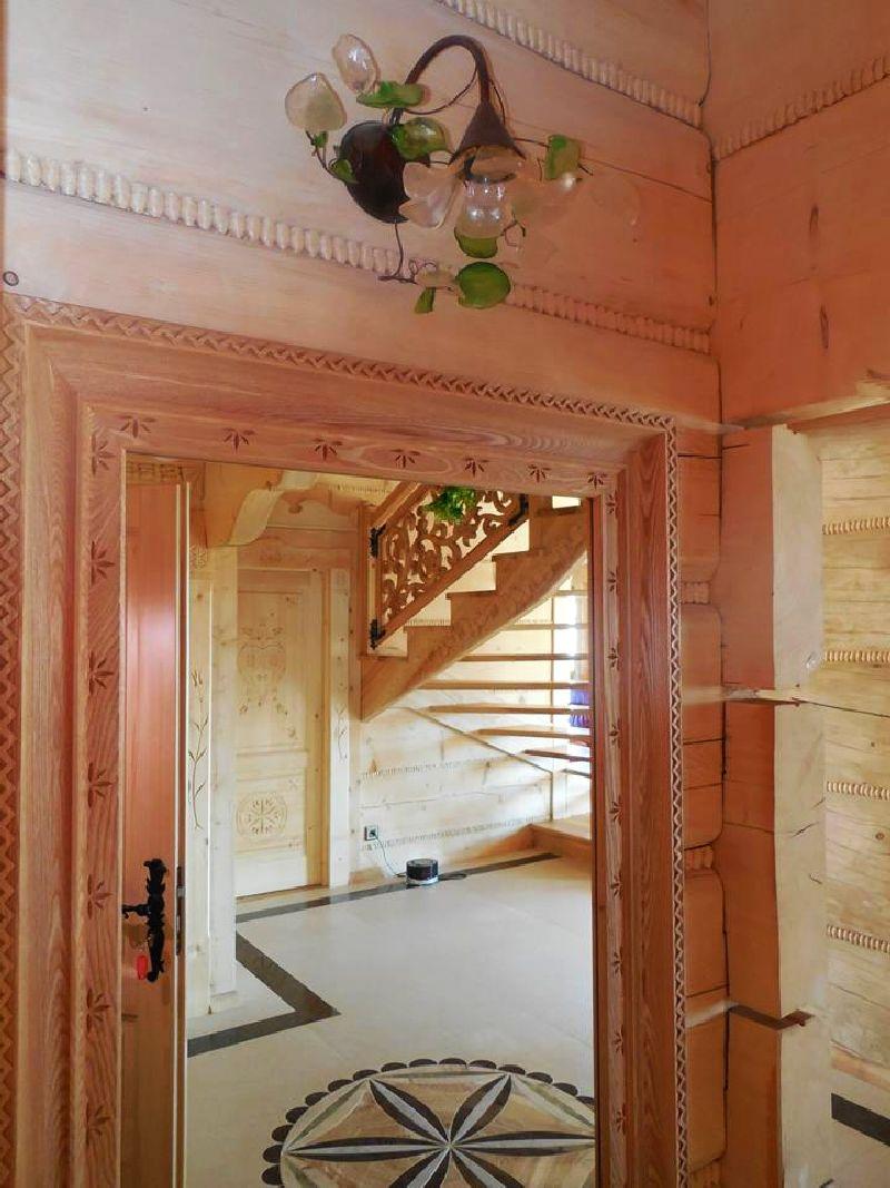 adelaparvu.com despre casa din lemn cu interior folcloric, casa Polonia, design interior Katarzyna Zachariasz-Rybak, k2 Studio (8)