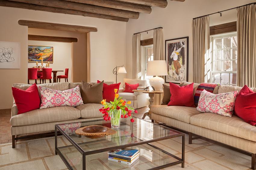 adelaparvu.com despre casa in Santa Fe, design interior Violante & Rockford Interiors, Foto Wendy McEahern  (1)