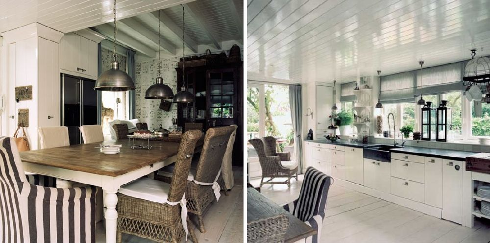 adelaparvu.com despre casa olandeza renovata, design interior Saskia si Henk Teunissen, Riviera Maison, Foto HousetoHome (4)