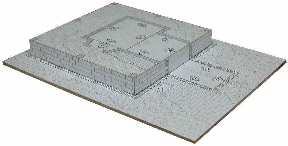 adelaparvu.com despre case miniaturale din ceramica, etape de constructie, Atelierul de modelism (2)