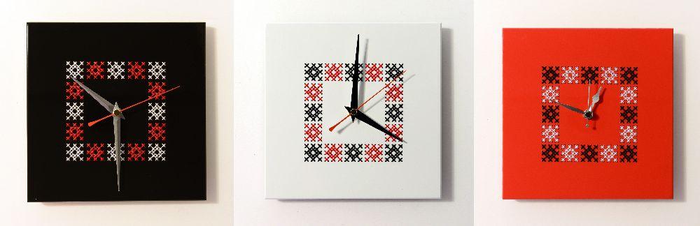 adelaparvu.com despre ceasuri cu motive traditionale romanesti, design Artesis, Gina Bursuc (1)