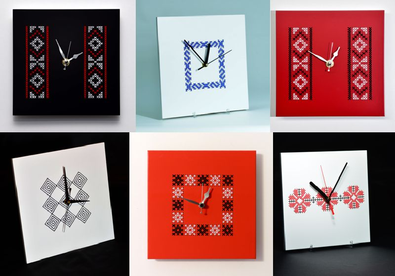 adelaparvu.com despre ceasuri cu motive traditionale romanesti, design Artesis, Gina Bursuc (2)