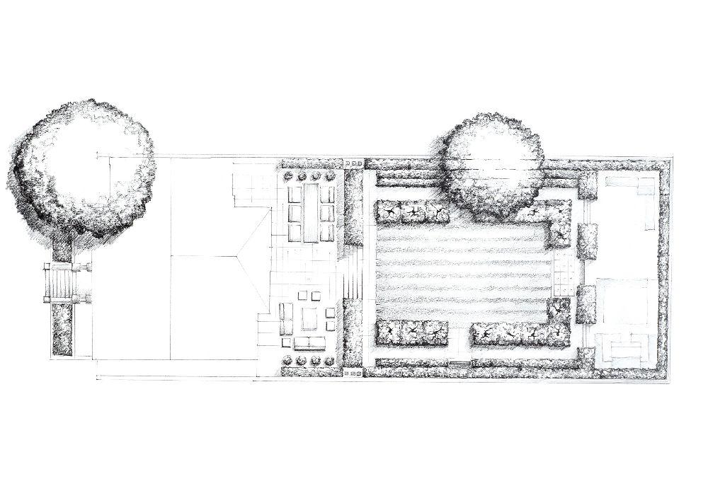 adelaparvu.com despre gradini mici si elegante, Gradina Adisson Road, designer Luciano Giubbilei (7)