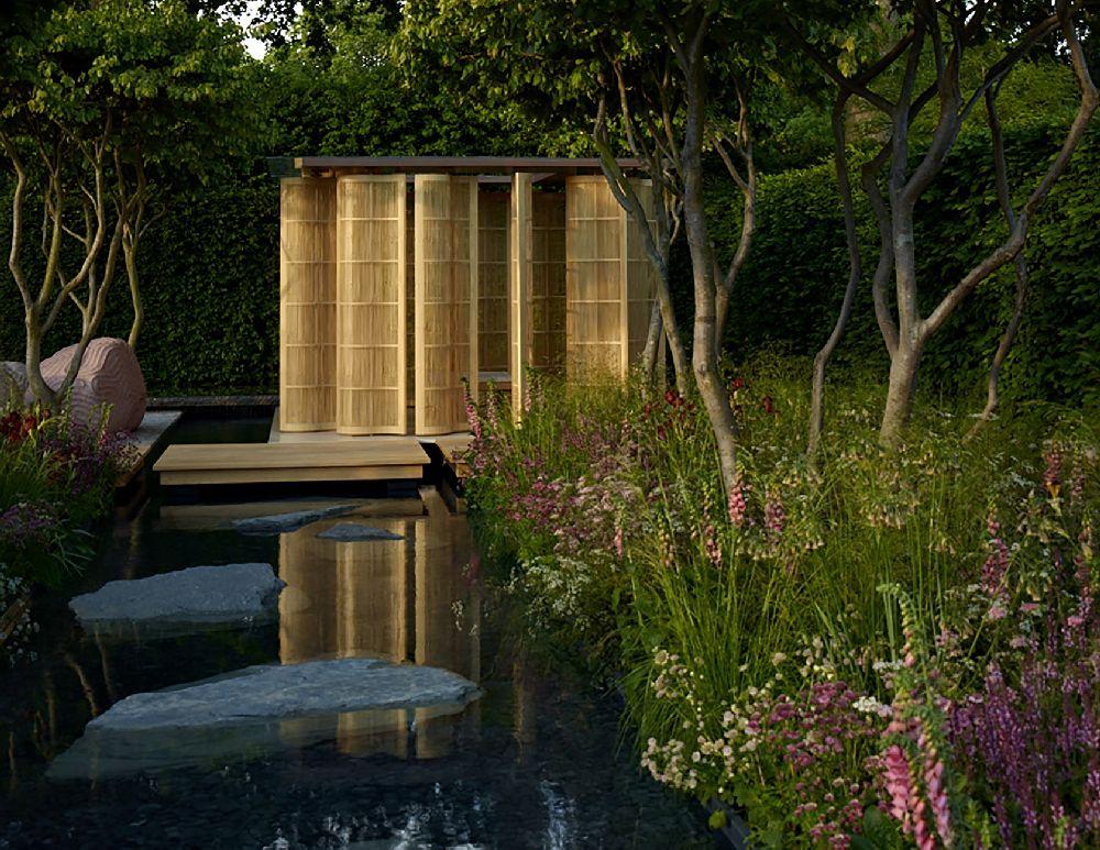 adelaparvu.com despre gradini mici si elegante, Gradina Chelsea 2011, designer Luciano Giubbilei (2)